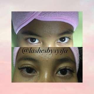 Eyelash Extension All Type Only 125k 😍✨