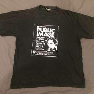 Band t shirt - public image ltd