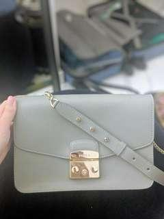 Furla Metropolis Shoulder Bag - Grey