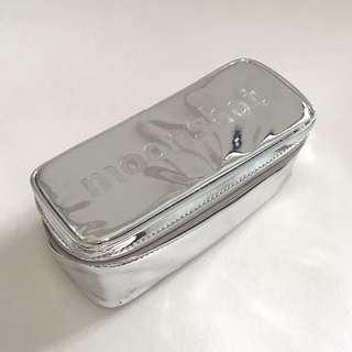 moonshot Silver Makeup Pouch
