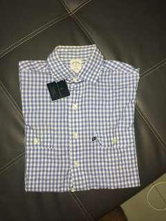 Brooks Brothers Shirt Short Sleeves Authentic Preloved
