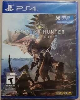 PS4 Monster Hunter World (R2)
