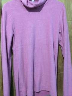 Sweater UNIQLO Dusty Pink ORIGINAL