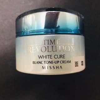 Missha White Cure Blanc Tone-up Cream 美白面霜50ml
