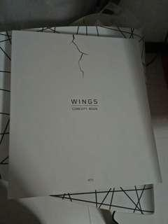 wts bts wings concept book