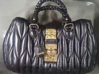 PRICE CHANGED- Miu Miu Coffer Handbag