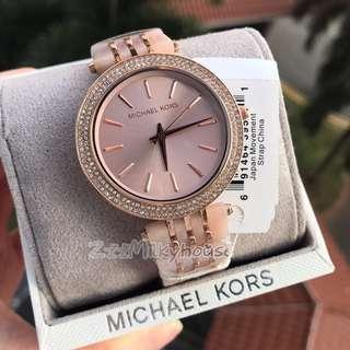 🚚 Michael Kors ladies Rose Gold Tone Stainless Steel watch