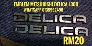 emblem mitsubishi delica L300