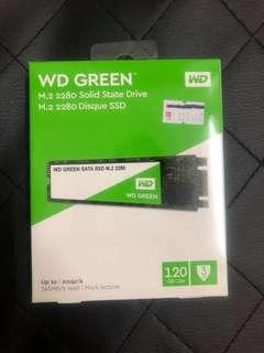 120GB WD GREEN SATA SSD M.2 2280