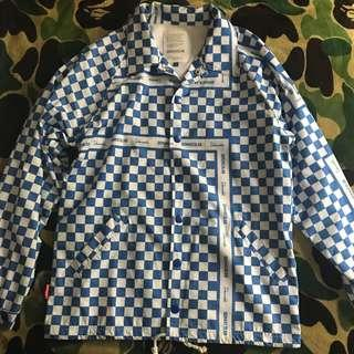 Demarcolab CH-CH-Check Coach Jacket 棋盤格 教練外套