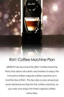 Arristo italian coffee maker
