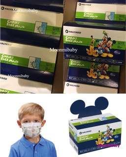 到貨紀錄 一 Halyard Disney Face Mask 迪士尼卡通小童口罩