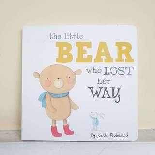 BUKU ANAK : A bear who lost her way