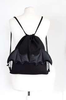 LF winged drawstring bag