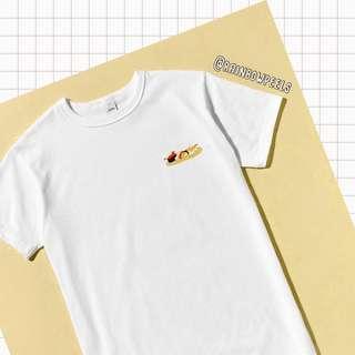PO | Cat Sushi Platter Tumblr Tee T-shirt