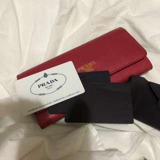 AUTHENTIC PRADA Long Wallet