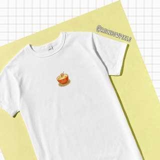 PO | Cat Bowl of Ramen Hot Tumblr Tee Korean Style Tshirt