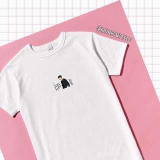 PO | korean oppa listless waiting tumblr tee ulzzang tshirt