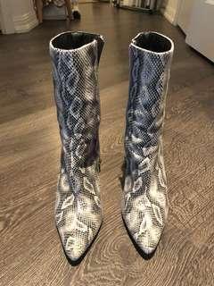 Fashion Nova snake heels
