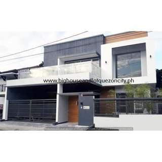 with SWIMMING POOL Near MRT Quezon City SINGLE DETACHED House and Lot QC For Sale 5 BEDROOMS Brand New Commonwealth Avenue RFO Ready For Occupancy with GARDEN