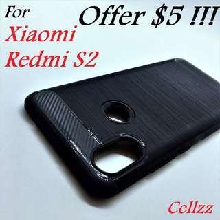 Redmi S2 Carbon Fiber Rugged TPU