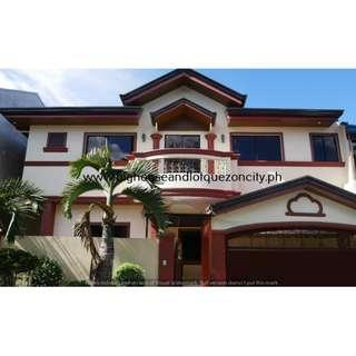 Quezon City 8 BEDROOMS SINGLE DETACHED House and Lot QC For Sale NEAR DILIMAN CONGRESSIONAL AVENUE RFO Ready For Occupancy with GARDEN