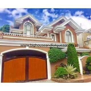 ST CHARBEL EXECUTIVE VILLAGE 7 BEDROOMS Quezon City House and Lot QC For Sale SINGLE DETACHED MINDANAO AVENUE RFO Ready For Occupancy with GARDEN
