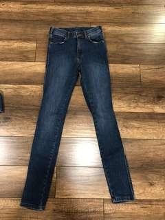 Dr. Denim ASOS super high rise skinny jeans