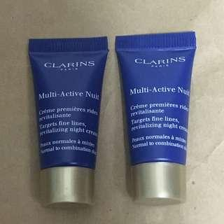 *包郵*Clarins Multi Active Nuit $25 for 2