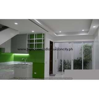 Quezon City MINDANAO AVENUE 4 Bedrooms House and Lot For Sale QC Brand New Townhouse RFO Ready For Occupancy with GARDEN
