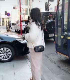 🚚 正品急售可議價🙏有鋼印編碼 保卡防偽 Gucci mini marmont 包包 側背包 女包