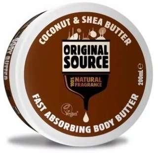 Original Source Body Butter Coconut & Shea Butter - 200 ml