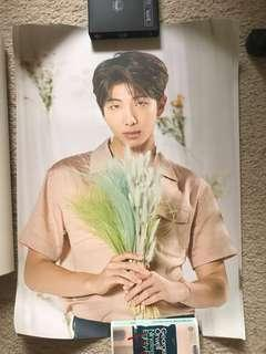 BTS BANGTAN BOYS OFFICIAL LOVE YOURSELF TOUR POSTER KPOP NAMJOON RM