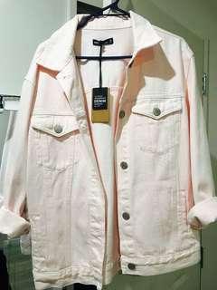 Glasson pink oversize jacket new