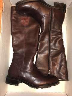 Authentic Leather Brown Town and Shoes Boots