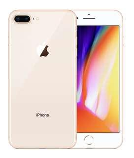 256gb Gold Apple IPhone 8 Plus