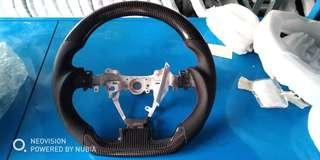 Toyota Harrier and toyota wish carbon fibre cf steering wheel