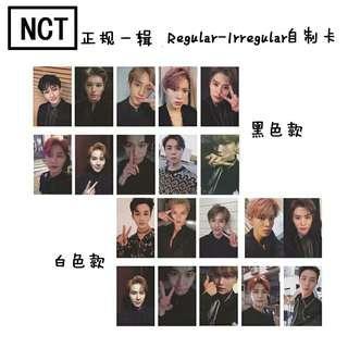 [ PO ] NCT127 REGULAR IRREGULAR PHOTOCARDS SET