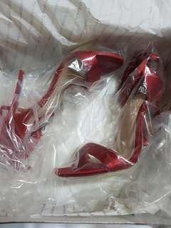 Aldo red gorgeous stylish heels