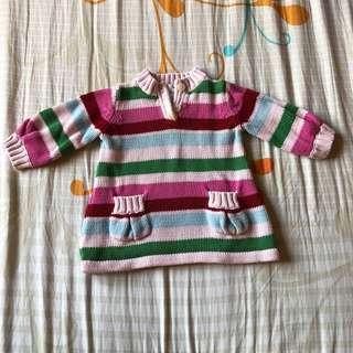 Baby Gap Girl Knit Sweater