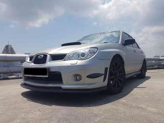 Subaru Wrx 2.5M Turbo for Rent