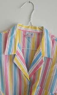 Pastel Button Up