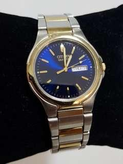 Beautiful Citizen 2 tone Gold and silver watch for men