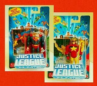 罕有2004年:Justice League (Superman ,Starman ) 收藏品