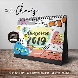 Charis Kalender 2019 Colorful Calendar