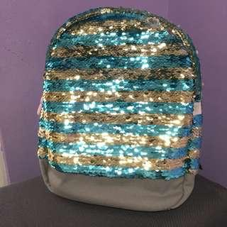 Corton On Kids Sequin Backpack