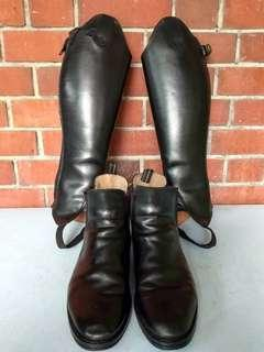 Riding boots (Horse Riding Equipment)