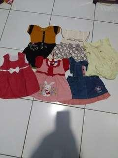 #jualanibu Jual dress bayi - Take all