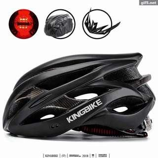 Bicycle Helmet With Backlight