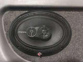 4pcs Rockford Fosgate Prime Speaker with board NEGO